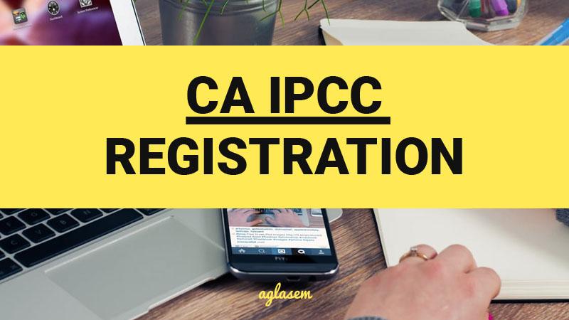 CA Intermediate registration process, CA ipcc registration procedure