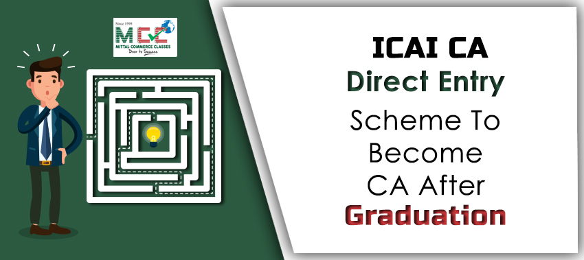 ICAI CA Direct Entry Scheme