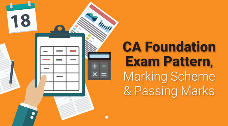 CA Foundation exam pattern, papers pattern and passing marks