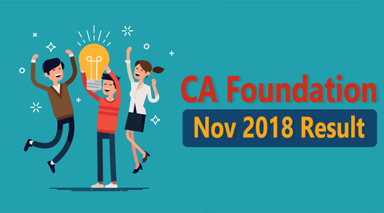 CA foundation result nov 2018