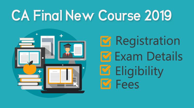 CA final new course registration, syllabus