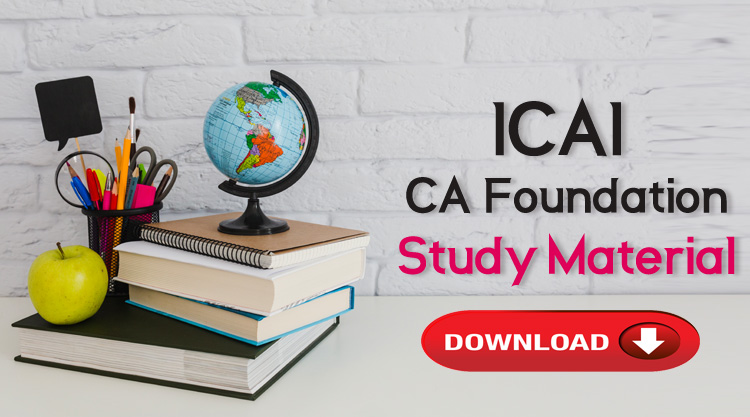 download icai ca foundation study material pdf