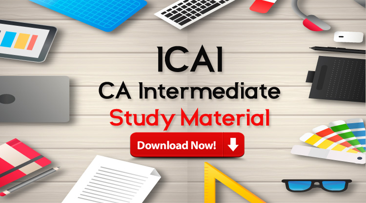 CA Intermediate Study Material Download for 2019 (PDF)