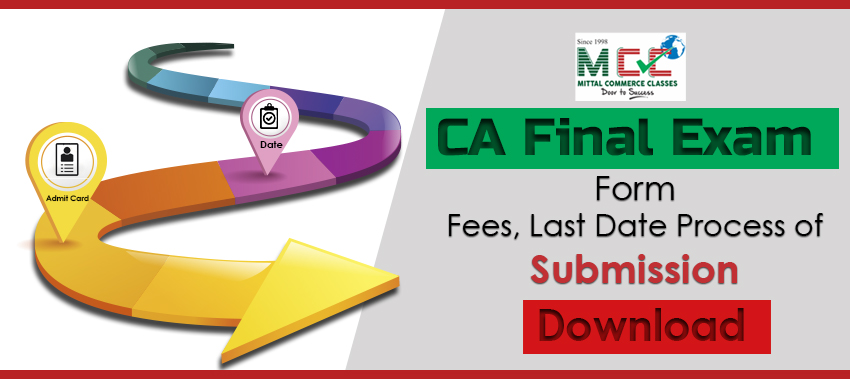 Download CA Final Exam Form Fees, Last Date, Process of Submission