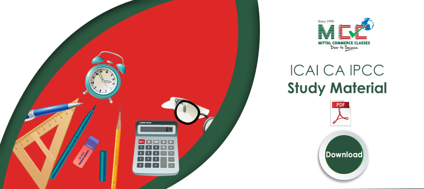 ICAI CA IPCC Study Material for May 2019 - Download PDF