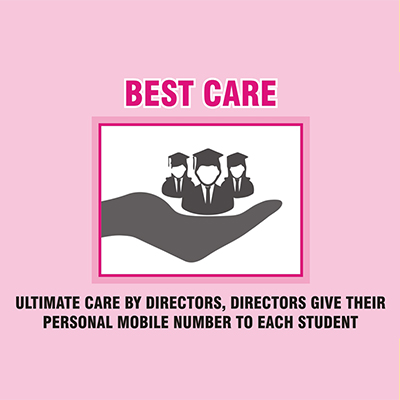CA foundation best care for student