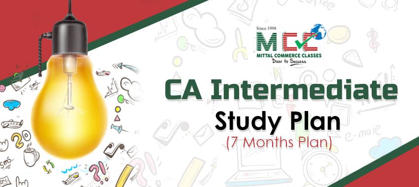 CA Intermediate Study Plan, Ca intermediate preparation