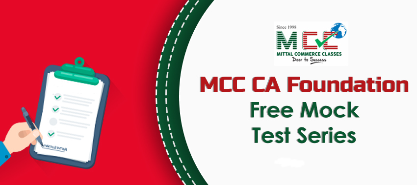 MCC CA Foundation Free Mock Test Series