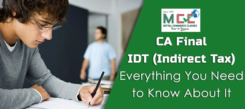 CA Final idt (indirect tax laws)