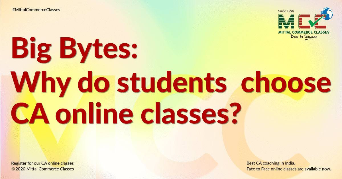 Big Bytes: Why Do Students Choose CA Online Classes?