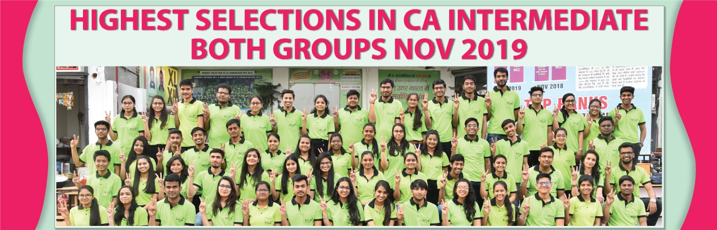 Highest selection in CA Intermediate both groups Nov 2019