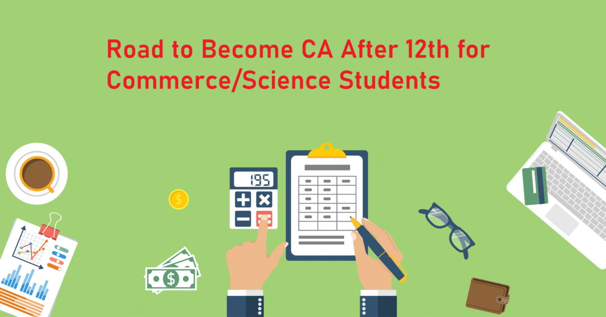 ca after 12th commerce/science