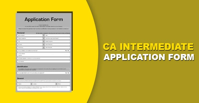 how to apply for ca intermediate